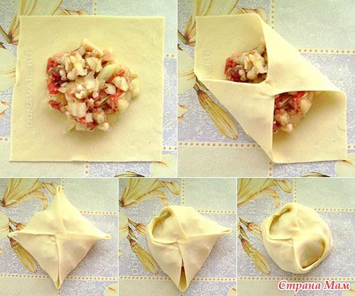 Как делаются манты рецепт пошагово