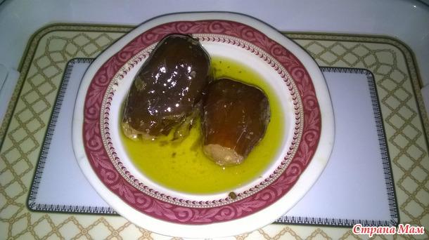 Вкусности из баклажанов по-иордански.