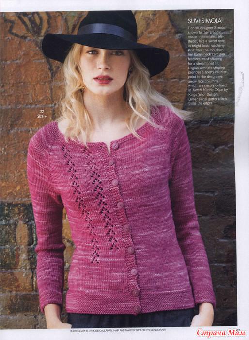 Вязание на спицах для женщин лучшее в блогах