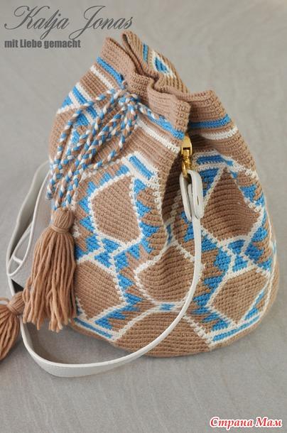 风格可爱的多功能提花编织袋专辑(三、包袋教程 ) - maomao - 我随心动