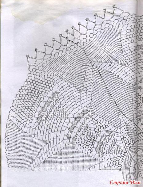 Вязаные крючком салфеточки