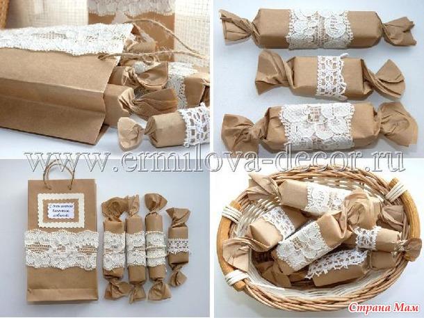 Интересная упаковка для подарка своими руками