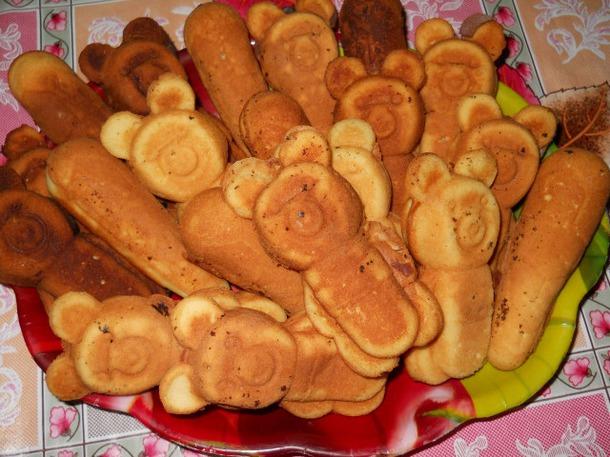 Рецепт печенья олимпийские мишки в форме