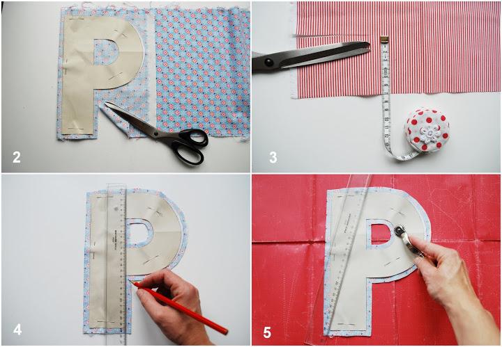 Как сшить букву в подушки своими руками