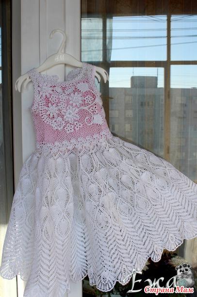 """. Очередное платье для дочки и первый опыт в """"ирландии""""!"""