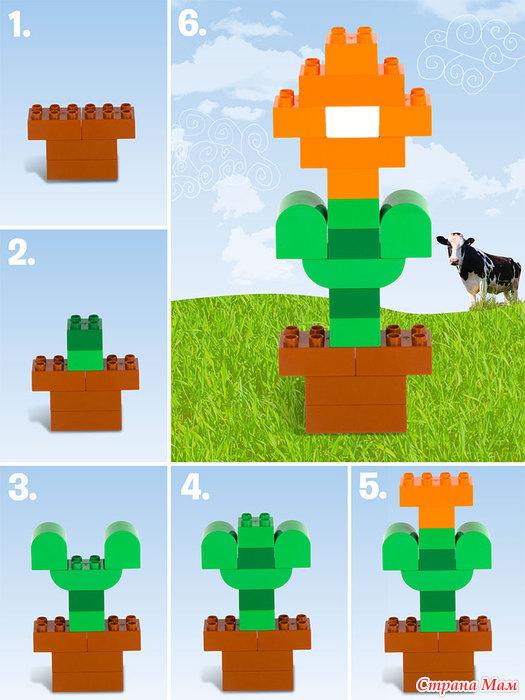 Схемы для кубиков лего