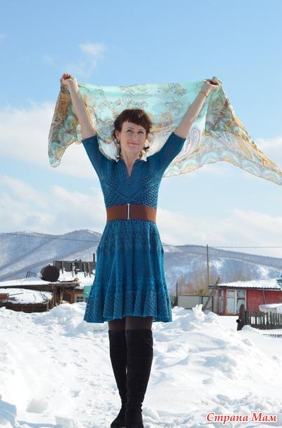 . Платье к 8 марта