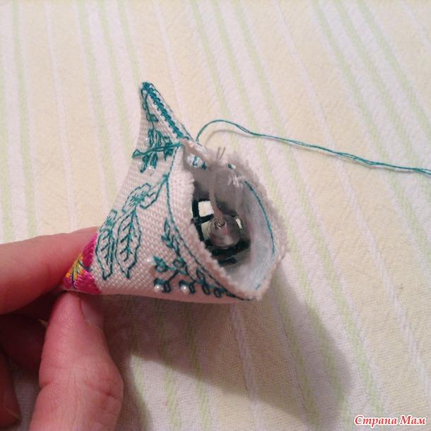 Пасхальный колокольчик-берлинго! МК:-)