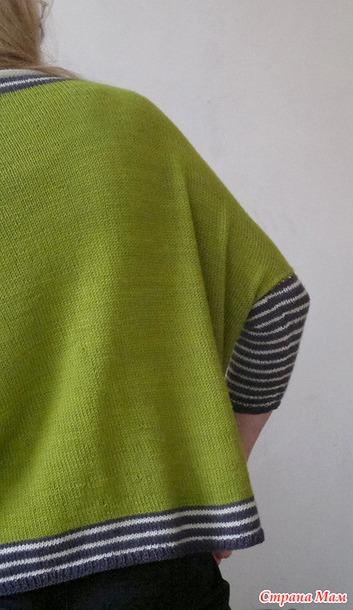 """Блуза  - """"Наволочка с рукавами »"""