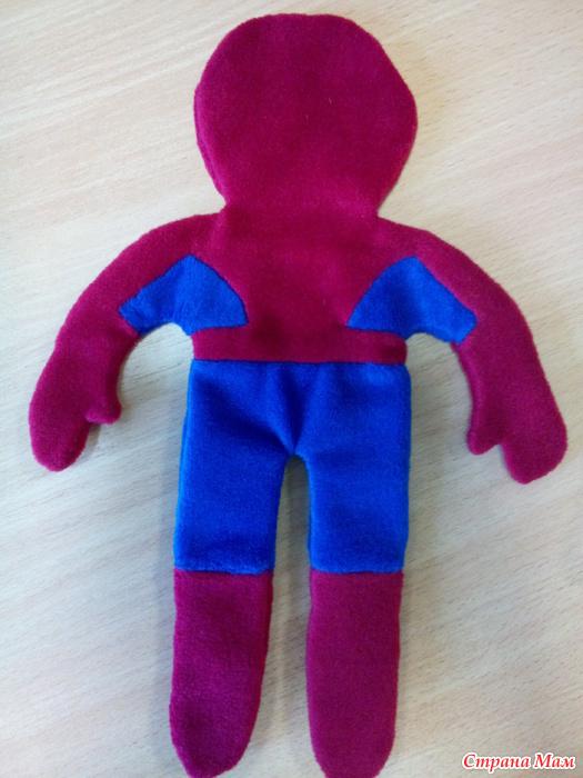 Как сделать игрушку человека паука своими руками