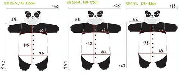 Костюм панда своими руками