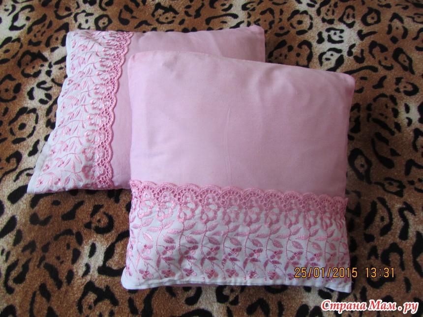 Как сшить постельное белье с кружевами 795