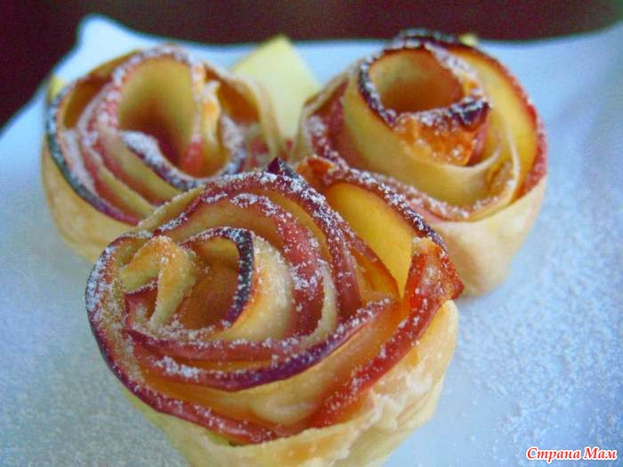 Приготовить красивое пирожное к