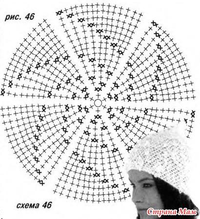 Топики крючком со схемами