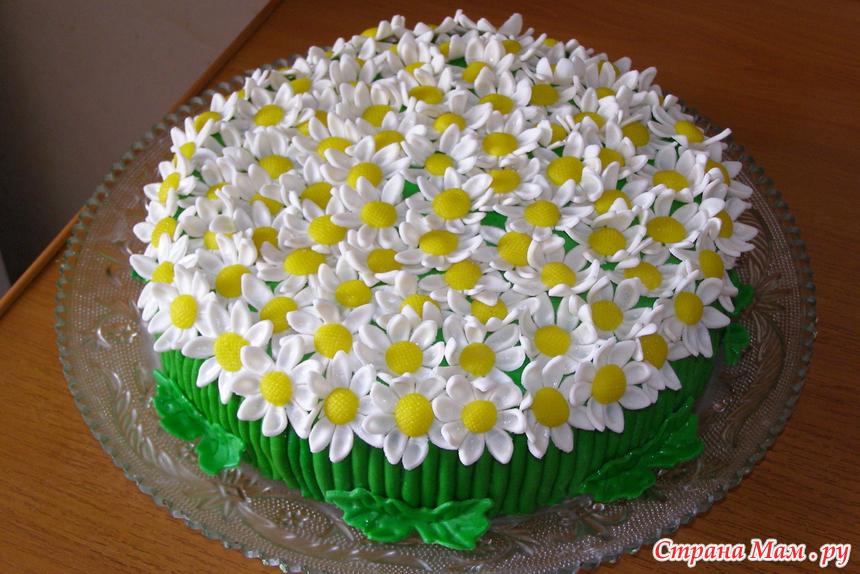 Украшение торта с зеркальной глазурью 100