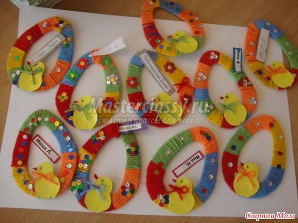 Пасхальные яйца своими руками в детском саду