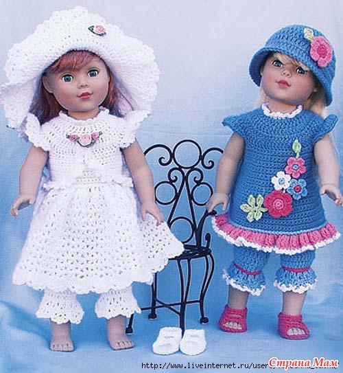 Схем одежды для кукол