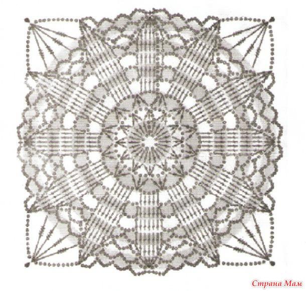 Схема и фото вязание пинеток крючком