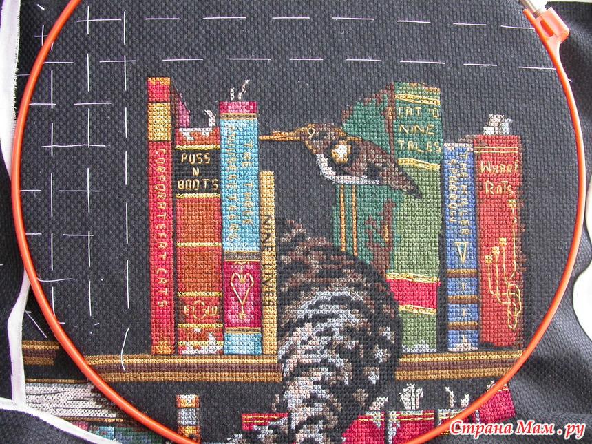 Фредерик литератор схема вышивки