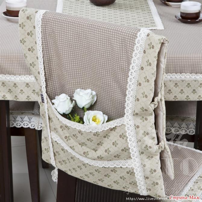 Чехлы на стулья своими руками для кухни