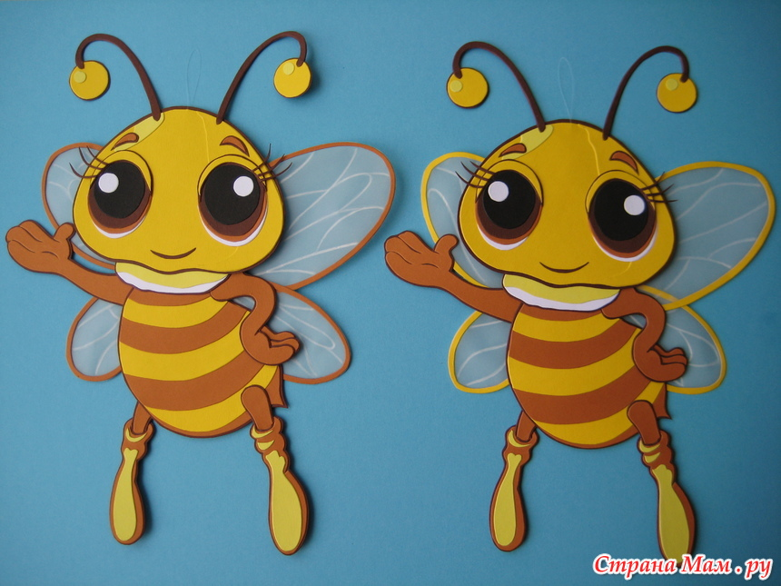Поделки пчела и шмель