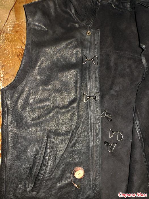 Переделываем кожаную куртку своими руками