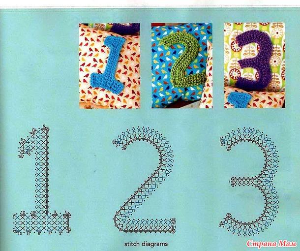 Крючковые алфавиты и цифры