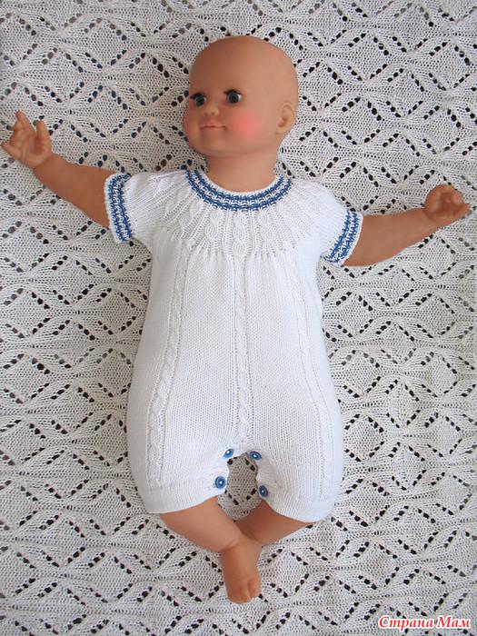 Вязание крючком на лето для новорожденных