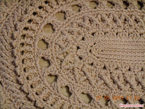 Осинка вязание крючком ковры 74