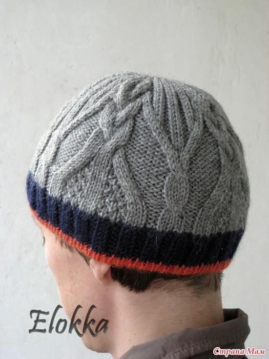 针织:从杂志款的男士帽子 - maomao - 我随心动