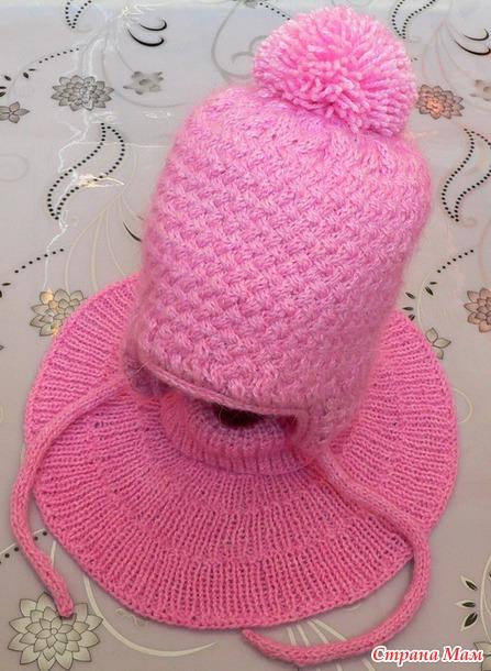 . Манишка и шапочка из Великолепной Пехорки
