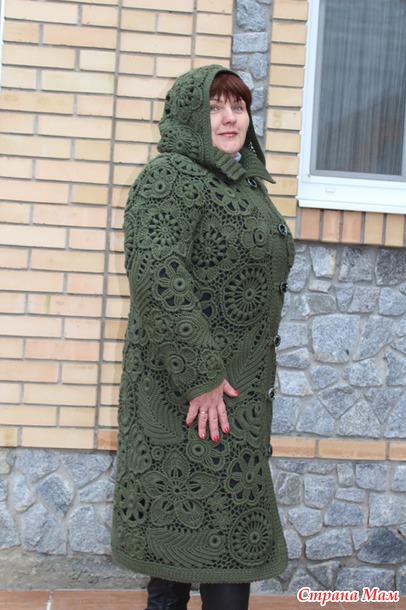 Вязание крючком ирландские пальто