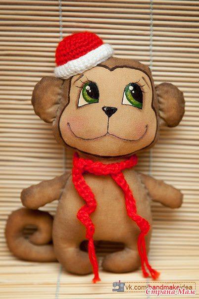 Как сделать своими руками игрушку обезьянку