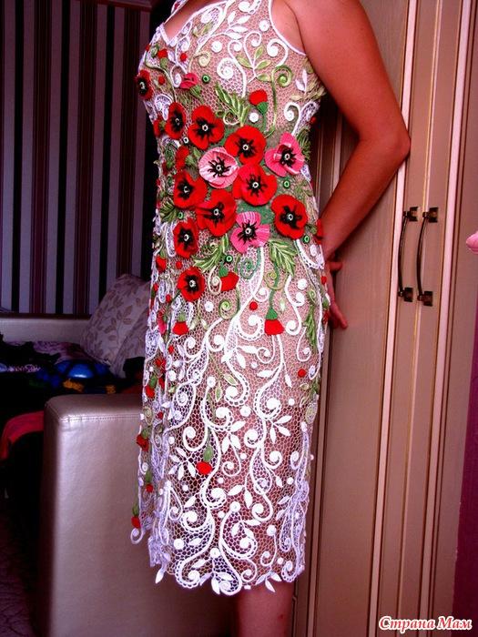 платье на одно плечо для девочки мк