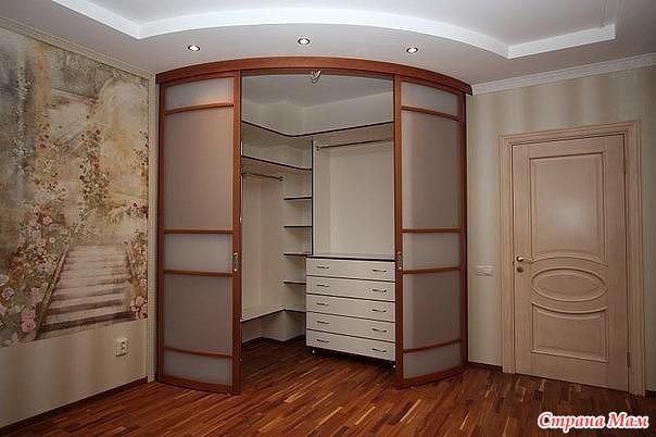 Угловой шкаф-купе в прихожую дизайн идеи
