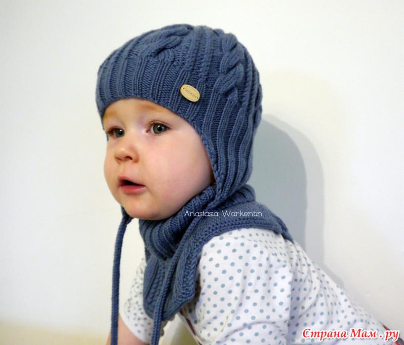 """针织脖套童帽""""雾凇"""" - maomao - 我随心动"""
