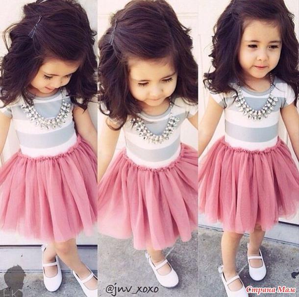 Модные детки платья