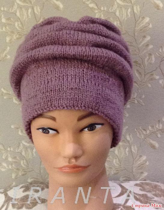 Вязание шапок клоке 127