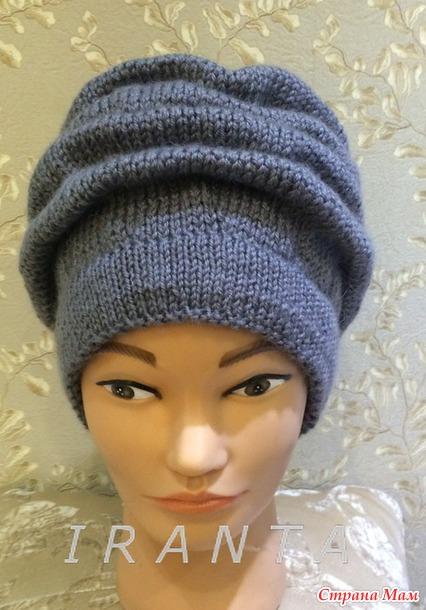 Вязание шапок клоке 189