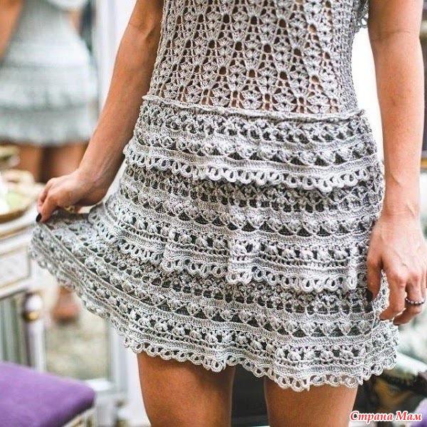 Ванесса монторо схемы вязания юбки
