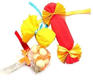 Игрушка конфета из бумаги своими руками