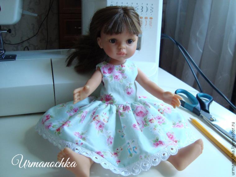 Сшитые платья на кукол своими руками