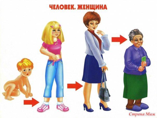Как растет девочка