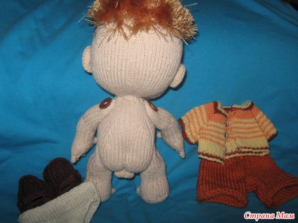 Как своими руками связать куклу
