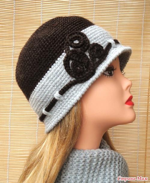 Вязание крючком для женщин шляпы зимние
