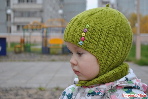"""Монпансье"" комплект шапочка+манишка+варежки"
