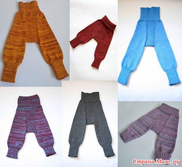 Как связать штанишки на 15 года