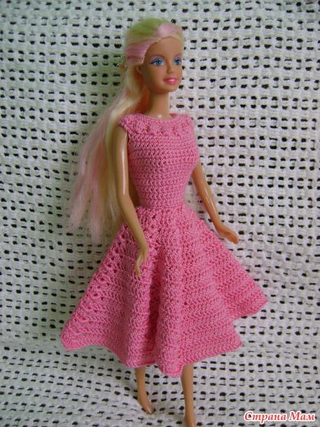 Новые наряды для куклы Барби