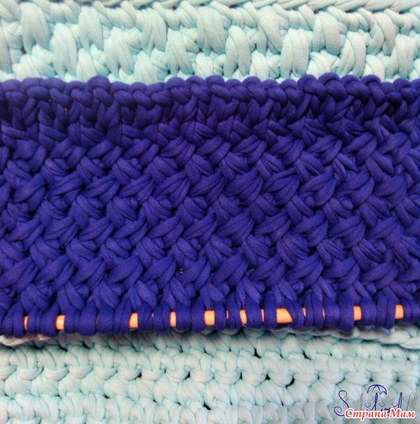 Вязание нитками лентами 49