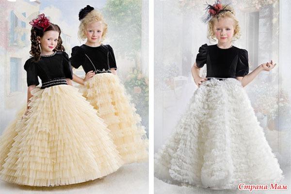 Платья новогодние для принцесс